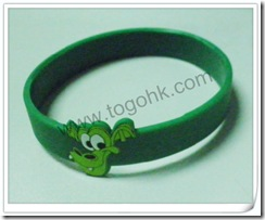 Double color silicone bracelet10