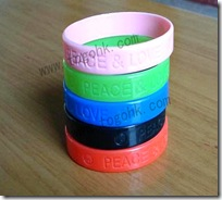 Custom Rubber Wristband