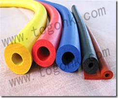 Yellow Silicone Rod Manufacture