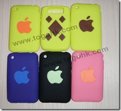 Silicone Case Cover for iPhone 3GS, iPhone 3G