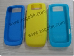 Silicone Case for Mobile Phone Blackberry
