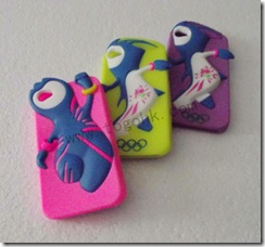London Olympic Silicone Case Mascot
