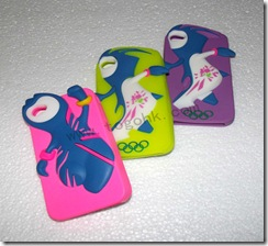 London Olympic Silicone iPhone 4 Case