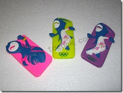 Beautiful Silicone iPhone 5 London Olympic Case