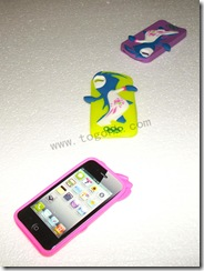 Silicone Case for London Olympic iPhone 4