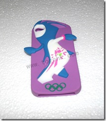 Silicone Case for London Olympic