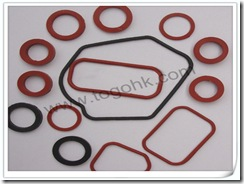Encapsulated Silicone O-Rings