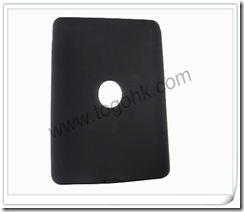 Black Silicone Case for Apple iPad