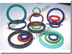 Red Silicone/Rubber O-ring Gasket