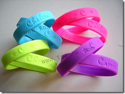 Customized Special Silicone Bracelet Supplier
