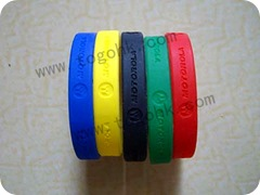 Order rubber wristband