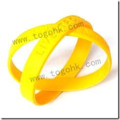 Silicone Rubber Bracelet Product