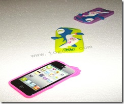 London Olympic Silicone Case For Iphone 4