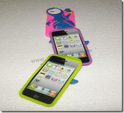 London Olympic Silicone case For Iphone 4 Case
