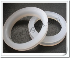 Encapsulated Silicon o-rings