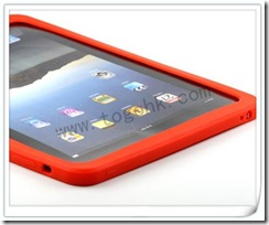 Silicone Cover/Case Set for iPad