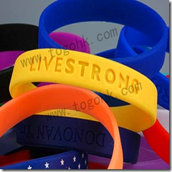 Printed Silicone Bracelet Product