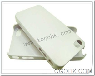 White Plastic iPhone Case