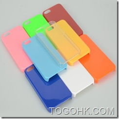 Plastic/Silicone Cell Phone Case: