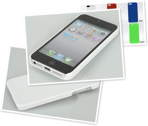 查看 White Plastic Silicone iPhone Case