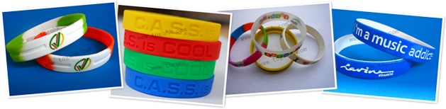 查看 fashion waterproof silicone bracelet #1