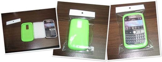 查看 Silicone Case for Cell Phone Blackberry