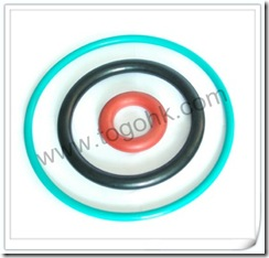 Green silicone o-ring