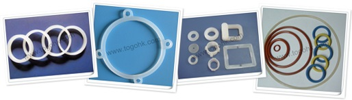 查看 Transparent silicone flat rubber gaskets