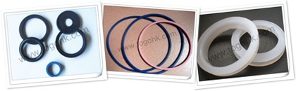 查看 Silicone sealing rings