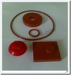 Red Silicone Rubber Gasket