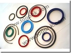 Silicone/EPDM Red O-rings