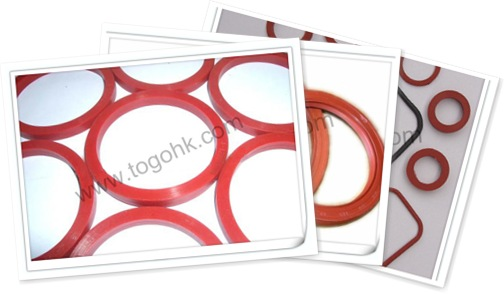 查看 Red Silicone Rubber Gasket 2