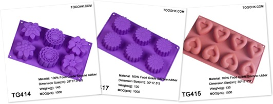 查看 silicone baking mould
