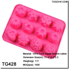 silicone flower cake mould
