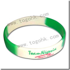 Customized Special Silicone Bracelet