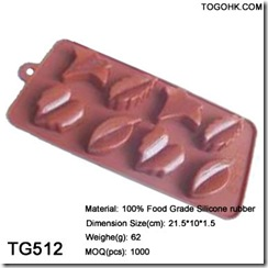 Tree leaf chocolate mould
