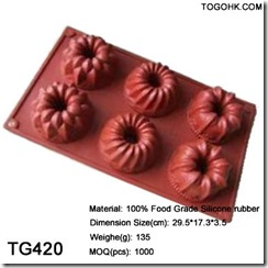 Plant cake mould