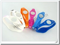 Energy silicone bracelet supplier