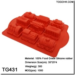 silicone house cake mould