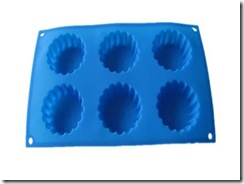Silicone bakeware Eight holes