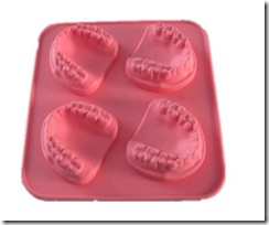 Silicone bakeware Tooth