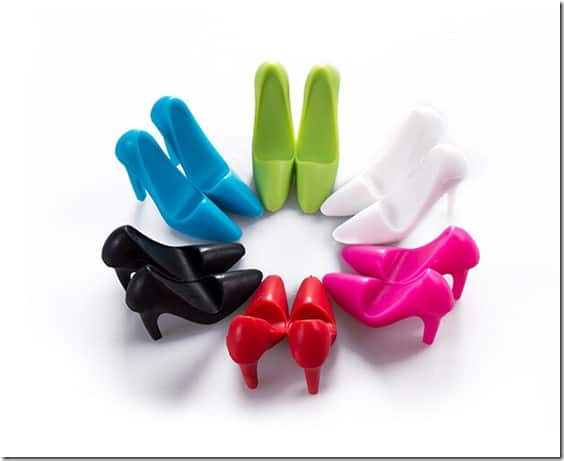 Silicone High heels phone support