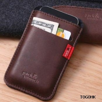 Pack & Smooch iPhone wallet case