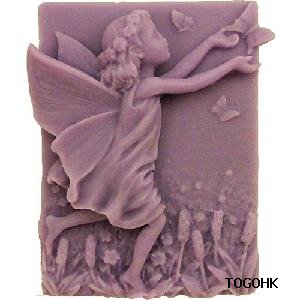 (R0720) Silicone Flower Fairy Mold Silicone Soap Mouldsdiy Soap Mold
